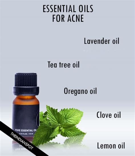 Treating Acne With Essential Oils by How To Use Essential Oils For Acne Treatment Theindianspot