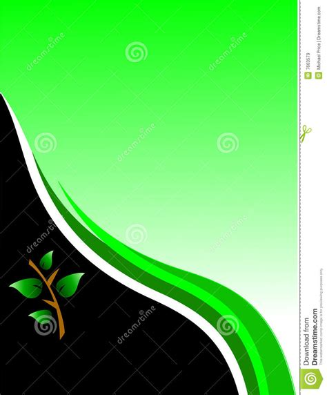 id card design wallpaper green environmental business card stock vector image
