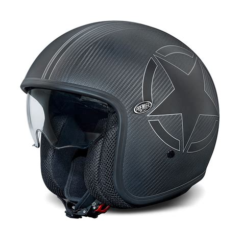 Helm Premier premier jet helm vintage carbon im thunderbike shop