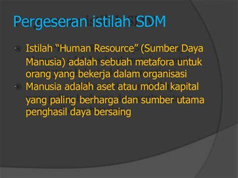 pelatihan manajemen sdm lengkap