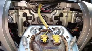most ford airbag removal how to replace steering wheel