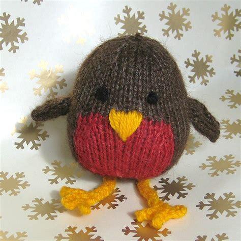 Knitting Pattern Robin | jolly robin toy knitting pattern on luulla