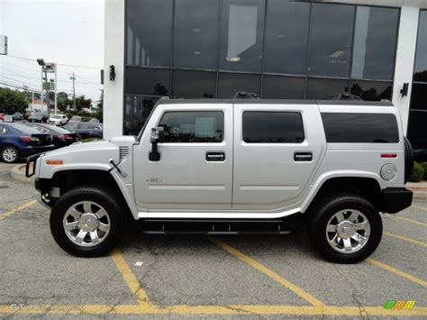 Hummer H2 Limited Edition by Limited Edition Silver 2009 Hummer H2 Suv Silver