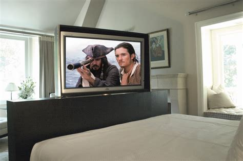 bedroom tv cabinet hidden photos and video rotating hidden tv traditional bedroom chicago by