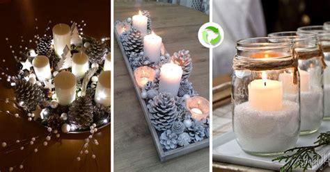 centrotavola natalizi fai da te con candele splendidi centrotavola natalizi fai da te 20 idee