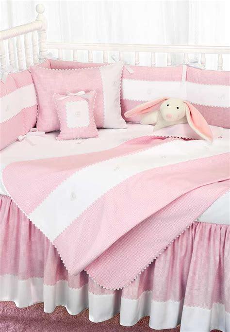 mini checker crib bedding by blauen