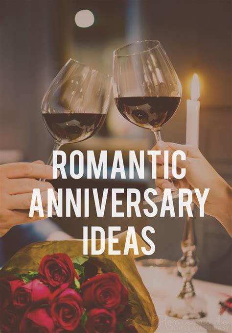 anniversary ideas fun romantic