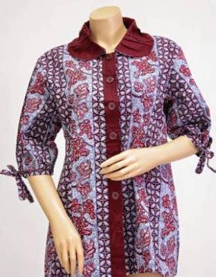 Atasan Batik Belakang 43 model baju batik atasan wanita pria 2019 model baju