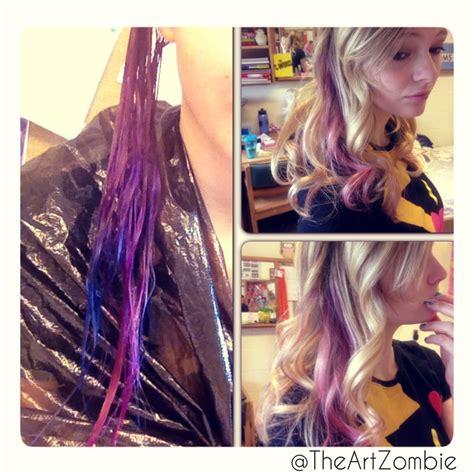 quot splat quot hair color diy splat hair color ideas