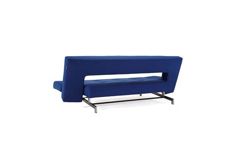 Wing Deluxe Sofa Bed Soft Sapphire Textile By Innovation Wing Sofa Bed