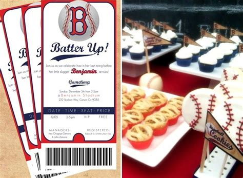 baseball themed events quot batter up quot baseball party guest feature celebrations