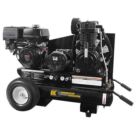 be pressure air compressor and generator combo gasoline 15 7 cfm plus 3500 watts canada only
