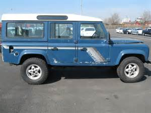 land rover defender diesel land rover defender turbo diesel v8 110 stationwagon for