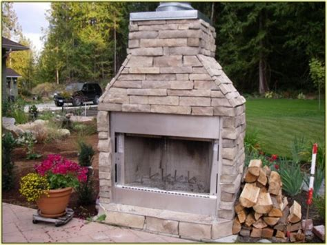 prefab outdoor fireplace 20 photos bestofhouse net 36746