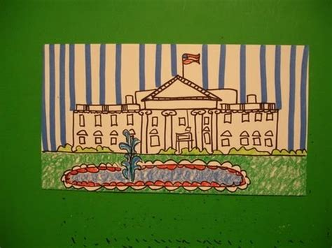 how to draw the white house let s draw the white house youtube