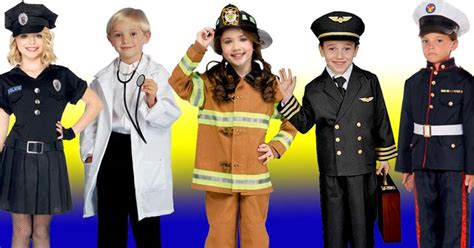 helper costumes firefighters doctors nurses cops