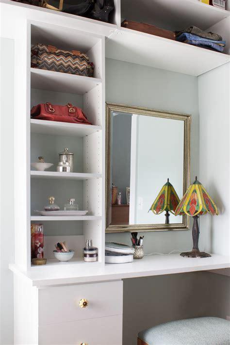 closet  dressing table transitional closet