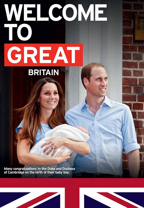 Baby News From Britain by Visitbritain Launches Royal Baby Poster To Target 21