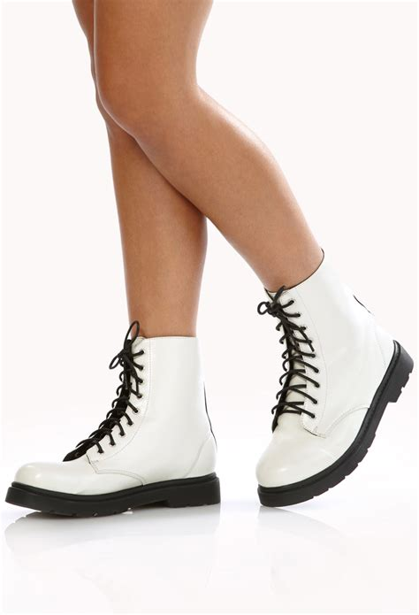 Boot Forever 21 Original sleek combat boots from forever 21 style