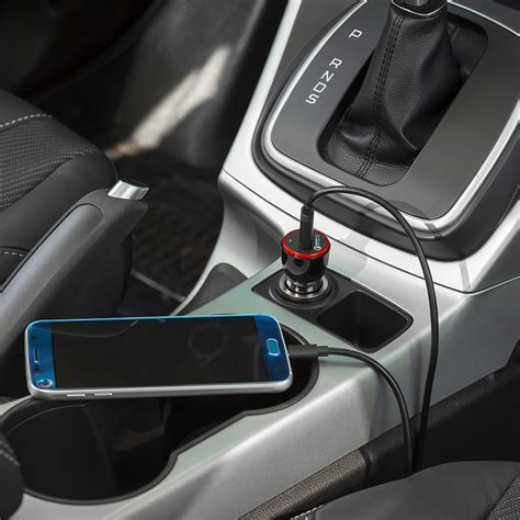 Anker Powerdrive 5 Port Car Charger Black A2311h12 anker usb car charger 3a power drive 1 qc 3 0 black
