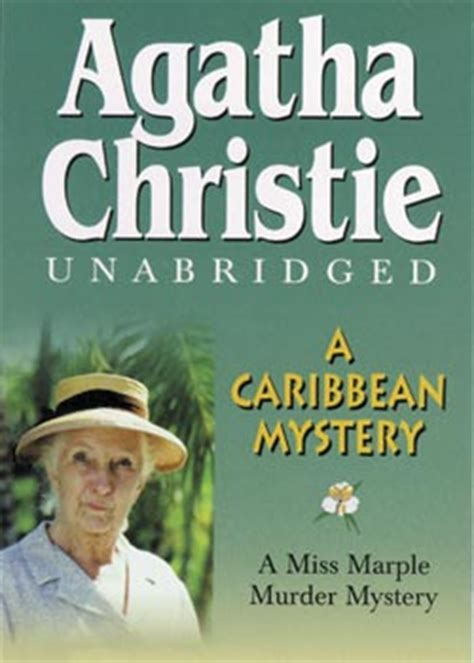 a caribbean mystery miss a caribbean mystery audio book cassettes unabridged