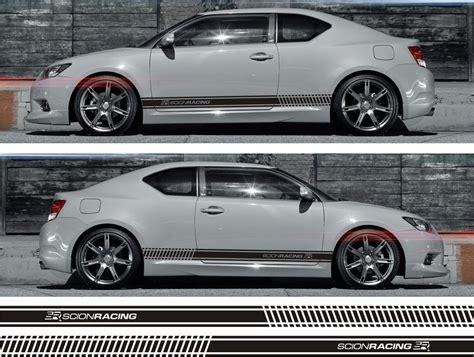ssk003 scion racing sr stripe sticker kit iq tc xd xb