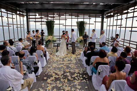 Weddingku Alila by Alila Uluwatu Cliff Edge Cabana Wedding Bali For Two