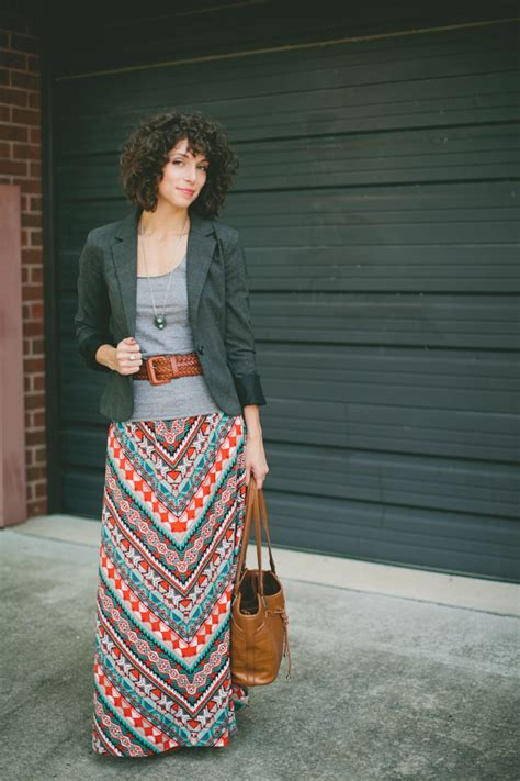 wardrobe wednesday maxi skirts blazers 187 watson