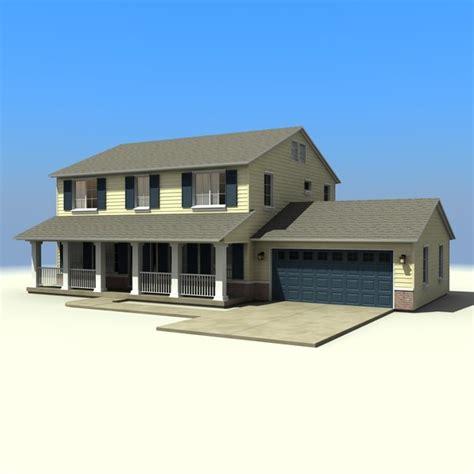 mcmansion house 3d max house set 30 3d max