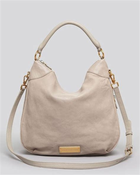 Marc By Marc Miss Marc Hobo by Marc By Marc Hobo Bag In Beige Taupe Lyst