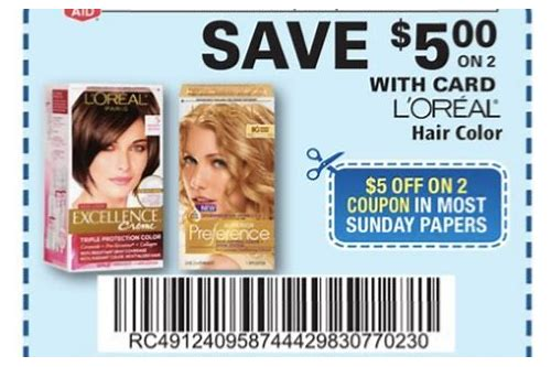 coupons for hair color highlights