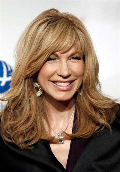 hair styles with bangs for women over 50 with round face 20 long hair styles for women over 50 hairstyles