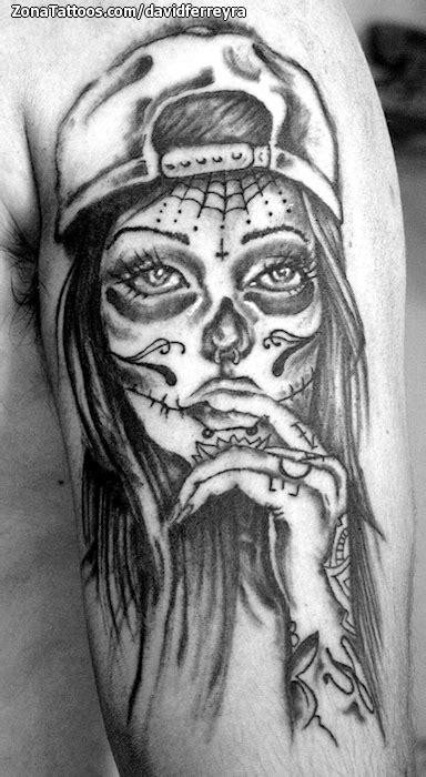 Catrina Top tatuajes catrinas sus profundos y posee una
