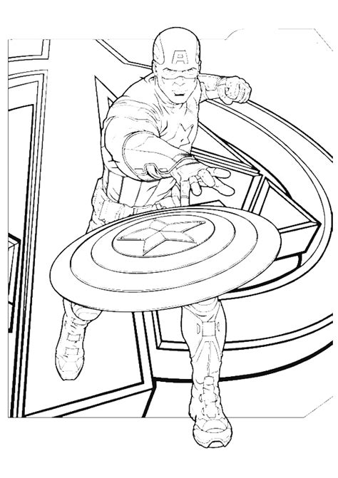 american coloring book captain america cast engage coloring pages captain