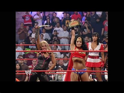 trish stratus halloween costume divas halloween costume contest raw oct 31 2005 hd