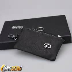 lexus key bag genuine leather car remote cover fob holder