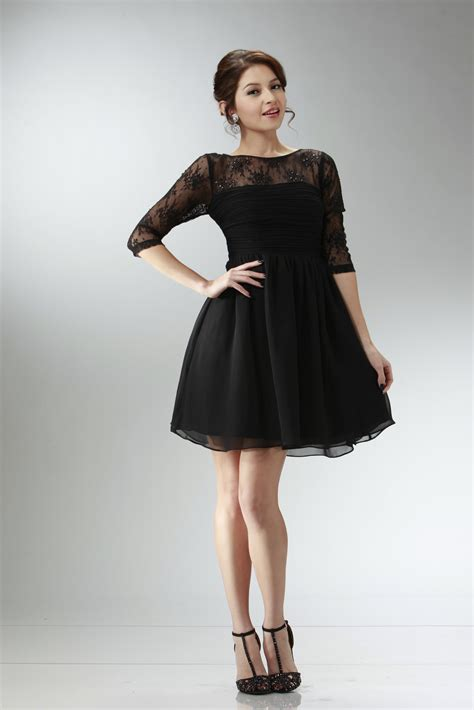 black homecoming dresses with sleeves 6 kinds of homecoming dresses with sleeves
