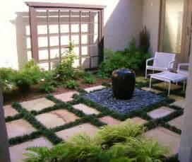 entry courtyard asian patio newark by statile todd