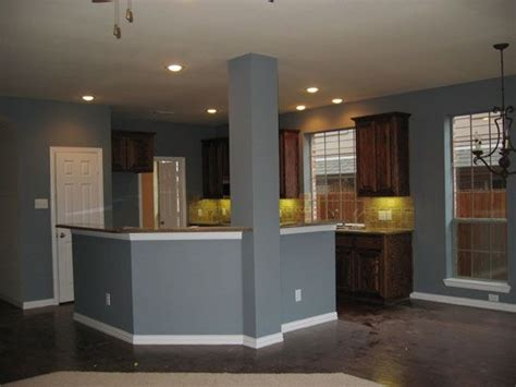 grey blue kitchen paint colour paint ideas