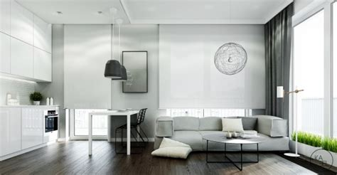 space conserving furniture 3 breathtaking apartment interiors from the kaeel