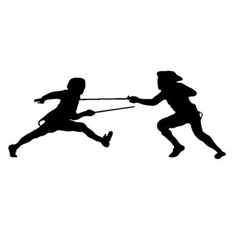 Frigo De Couleur 3367 by Stickers Muraux Sport Et Football Sticker Fencers