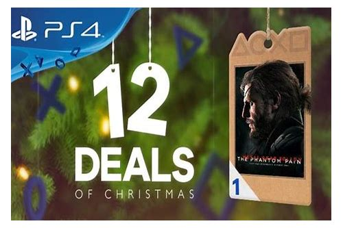 12 deals of christmas playstation 4