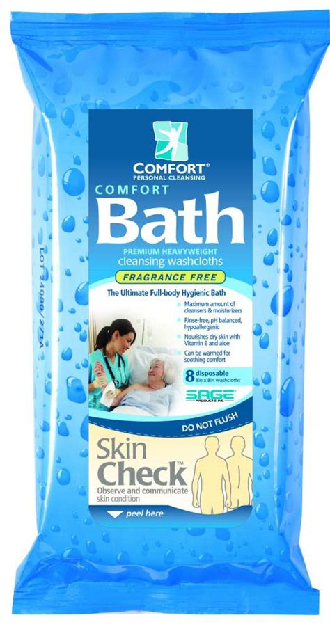 comfort bath wipes sage products heavy bath cloth heavy wt comfort bath