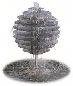 Spiral orb water feature modern indoor fountains brisbane by