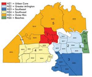 Duval County Zip Code Map by Health Zones Keepin It Simple Jacksonville