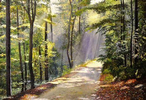 Imagenes De Paisajes Y Caminos | cuadros modernos pinturas y dibujos cuadros de paisajes