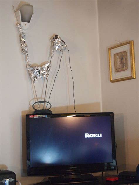 powerful modern homemade hdtv antenna  steps  pictures