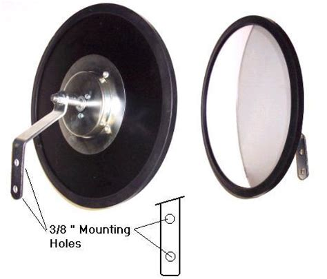 round convex mirrors acrylic, glass, indoor, outdoor.