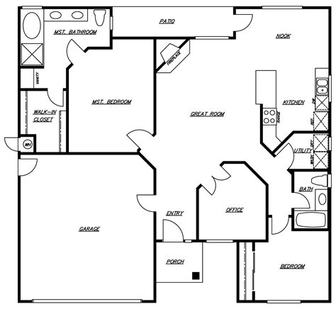 home floor plans california southern california new home builders plan 3 1417 sqft of