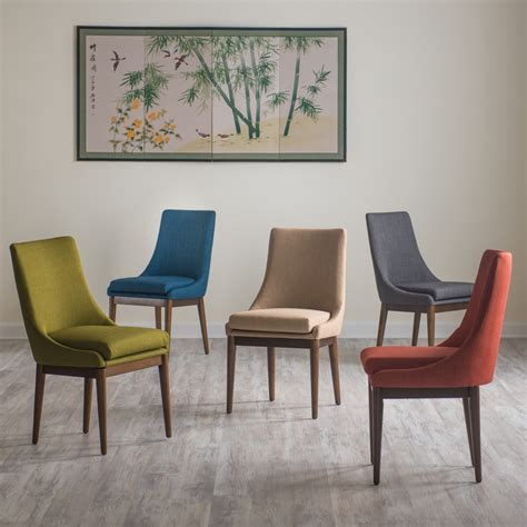 living room upholstered accent chairs schneiderman s furniture belham living carter mid century modern upholstered dining